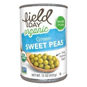 FD-CANNED-GREEN SWEET PEAS-ORG-454G