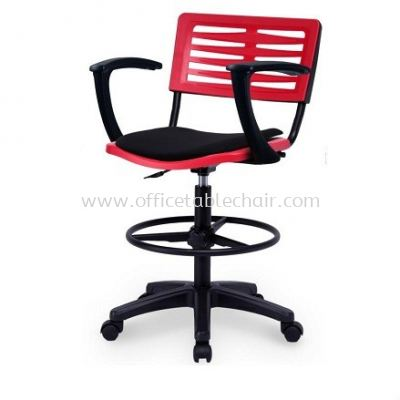 AEXIS-3 POLYPROPYLENE DRAFTING CHAIR C/W ARMREST ACL 68 GA01 UF-S