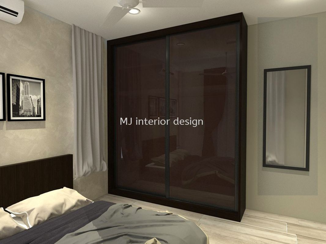 Wardrobe Modular Furnitures Penang, Gelugor, Malaysia Service, Design, Renovation | MJ Interior Design & Renovation