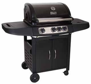 Masport Lifestyle 3 Hooded Gas BBQ Grill