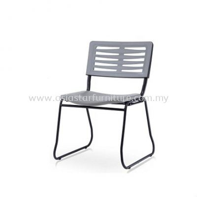 AEXIS-3 POLYPROPYLENE CHAIR W/O ARMREST & SQUARE METAL BASE ACL 685