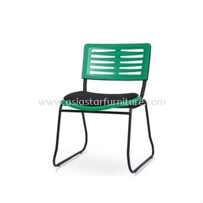 AEXIS-3 POLYPROPYLENE CHAIR W/O ARMREST & SQUARE METAL BASE ACL 68 SUF-S