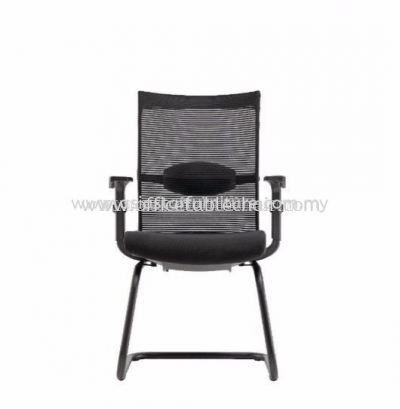 AVITO VISITOR MESH CHAIR  C/W EPOXY BLACK CANTILEVER BASE ACL 3336A