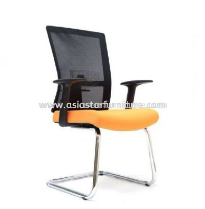 EXOTIC VISITOR MESH CHAIR WITH CHROME BASE ASE2763