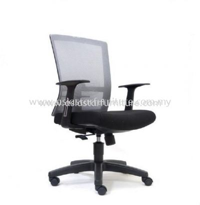 EXOTIC MEDIUM BACK MESH CHAIR WITH PP BASE ASE2766