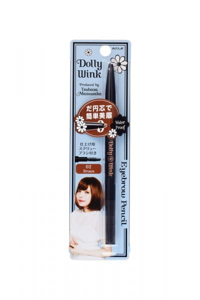 KOJI Dolly Wink Eyebrow Pencil (Brown)