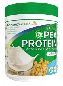 GROWING-PEA PROTEIN POWDER*ORIGINAL-456G
