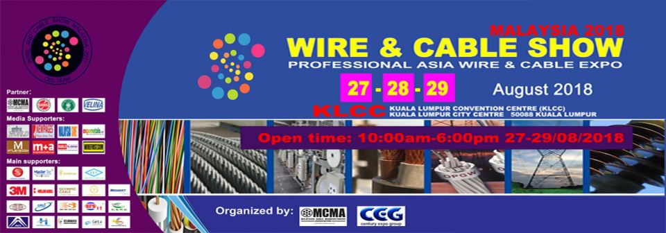 Wire & Cable Malaysia 2018 August 2018 Malaysia Future, Upcoming ...