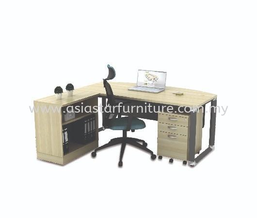 PYRAMID EXECUTIVE WRITING OFFICE TABLE/DESK - Office Table Kajang   Office Table Semenyih   Office Table Nilai   Office Table Sepang