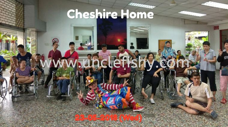 Community Care Charity Project at Chesire Home