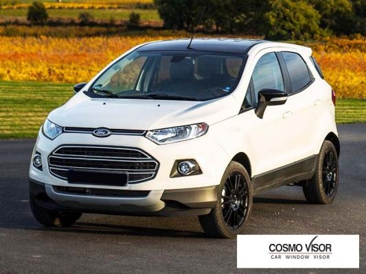 FORD ECOSPORT 13Y-ABOVE (MEDIUM 4��) DOOR VISOR / WINDOW VENT VISOR DEFLECTOR
