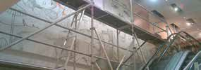 Staircase Tower Aluminium Scaffolding