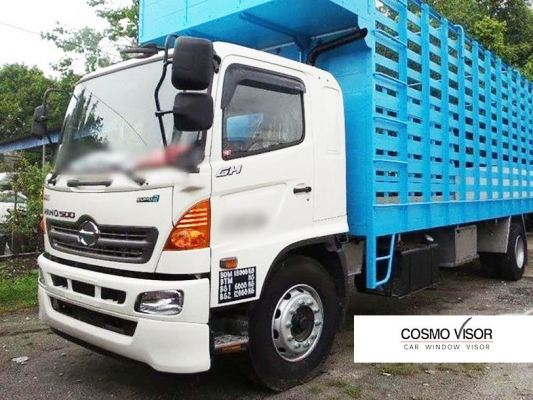 HINO 500 SERIES (GH1J) LORRY / TRUCK 03Y-ABOVE (BIG 5��) = DOOR VISOR