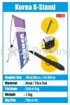 Korea X-Stand Bunting Stand Banner Inkjet
