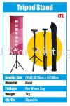 Tripod Stand Bunting Stand Banner Inkjet