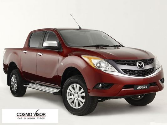 MAZDA BT-50 12Y-ABOVE (4.5��-5��) DOOR VISOR / WINDOW VENT VISOR DEFLECTOR