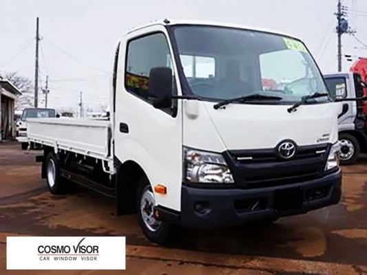 TOYOTA DYNA LORRY / TRUCK 14Y-ABOVE (BIG 5��) DOOR VISOR / WINDOW VENT VISOR DEFLECTOR