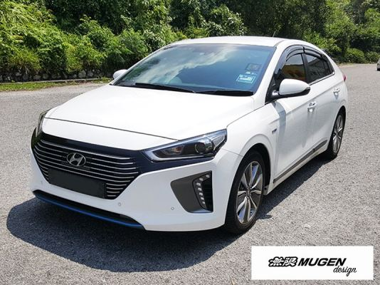HYUNDAI IONIQ 16Y-ABOVE MUGEN DOOR VISOR / WINDOW VENT VISOR DEFLECTOR