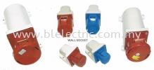 Wall Socket CEE Commando Plug & Socket
