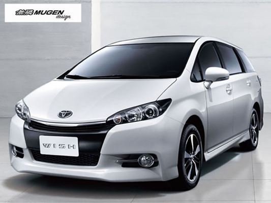 TOYOTA WISH (AE 20) 10Y-ABOVE = MUGEN DOOR VISOR