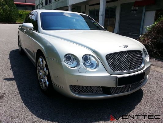 BENTLEY FLYING SPUR 06Y-12Y = VENTTEC DOOR VISOR