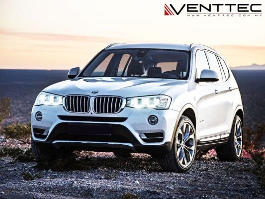 BMW X3 (F25) 11Y-17Y = VENTTEC DOOR VISOR