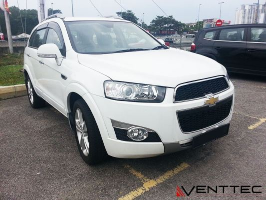 CHEVROLET CAPTIVA 06Y-ABOVE = VENTTEC DOOR VISOR