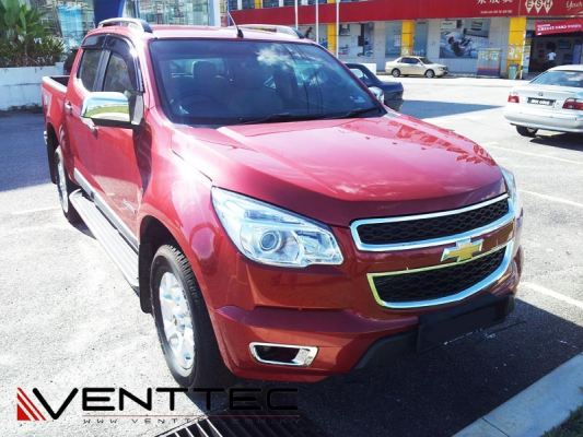 CHEVROLET COLORADO 12Y-ABOVE = VENTTEC DOOR VISOR