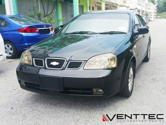 CHEVROLET OPTRA SEDAN 02Y-09Y = VENTTEC DOOR VISOR