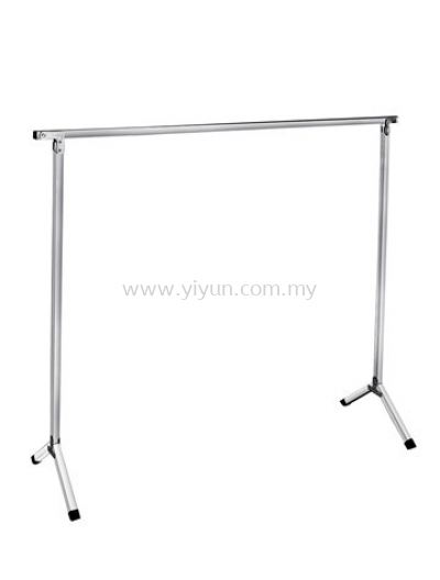 Foldable 1 Bar Steel Clothe Hanger
