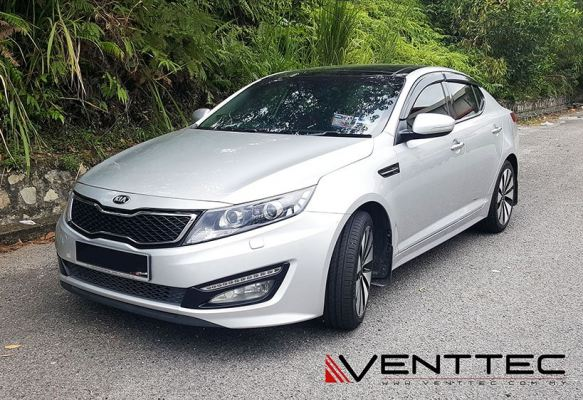 KIA OPTIMA K5 10Y-15Y = VENTTEC DOOR VISOR