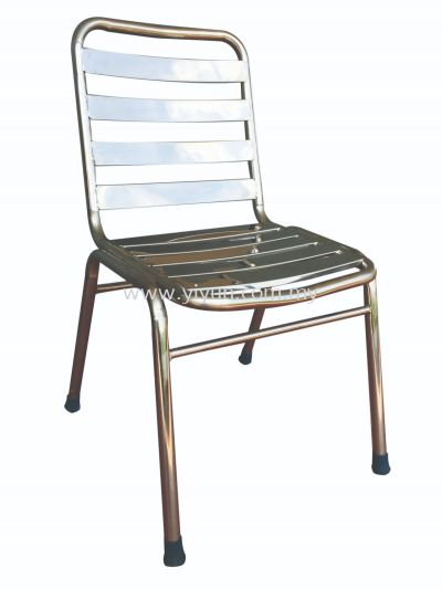 Stainless Steel Dinner Chair