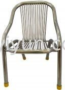 Stainless Steel Arm Chair