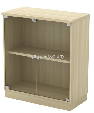 Low Cabinet with Swinging Glass Door  (AIM9YG)