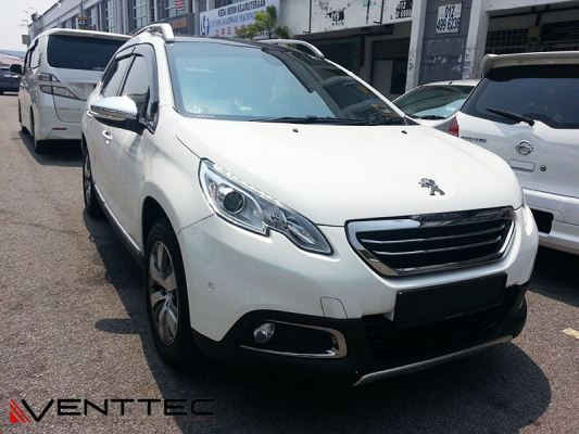 PEUGEOT 2008 13Y-ABOVE = VENTTEC DOOR VISOR