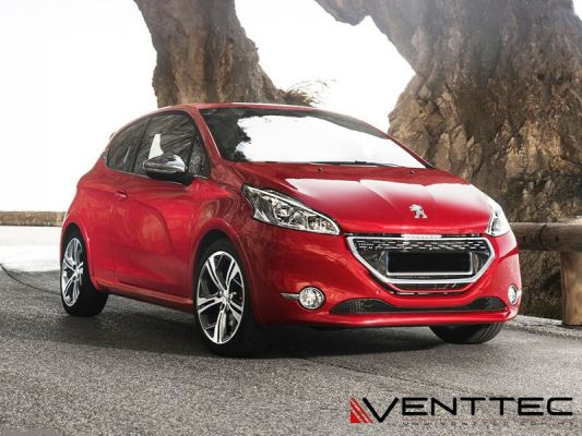 PEUGEOT 208 HATCHBACK (2 DOOR) 12Y-ABOVE = VENTTEC DOOR VISOR