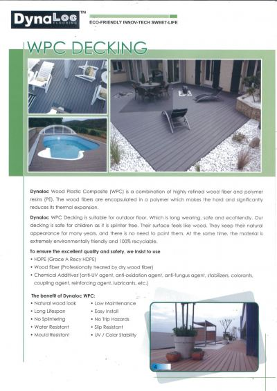 WPC Decking Board Catalogue