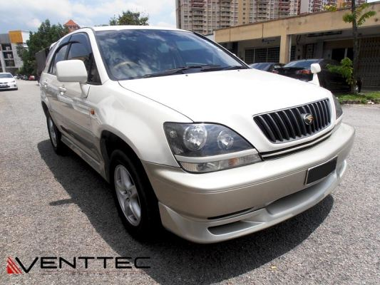 TOYOTA HARRIER (XU 10) 97Y-03Y VENTTEC DOOR VISOR / WINDOW VENT VISOR DEFLECTOR