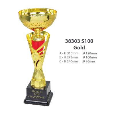 38303 Metal Cup Without Handle
