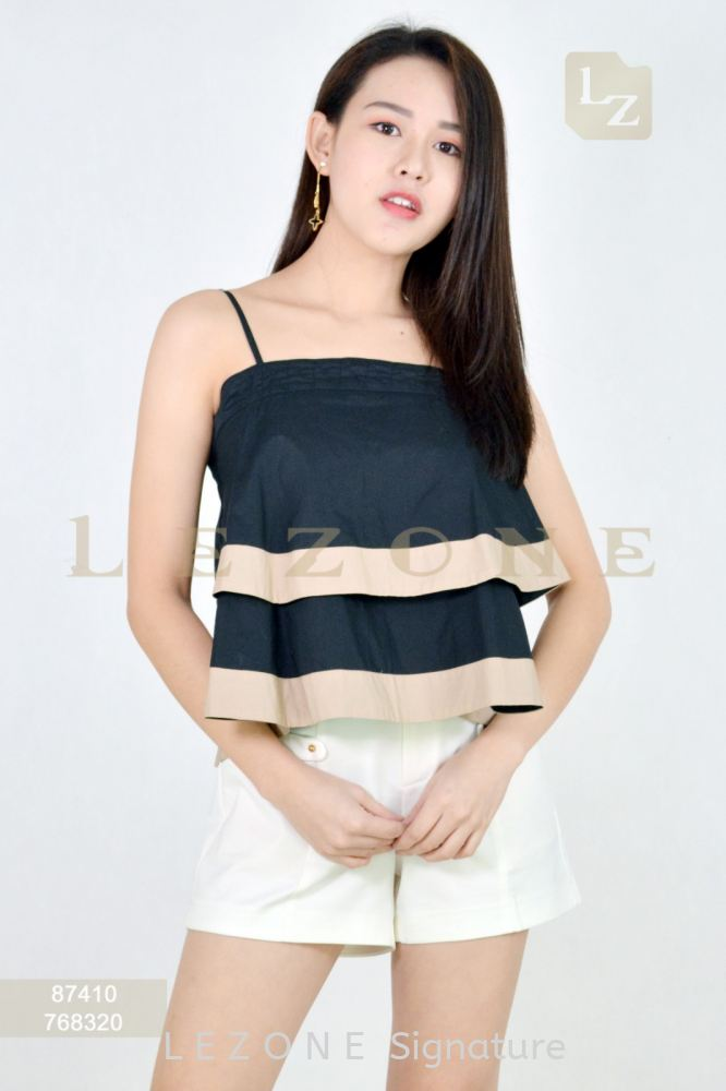 87410 CONTRAST BLOUSE【Value Buy RM50】