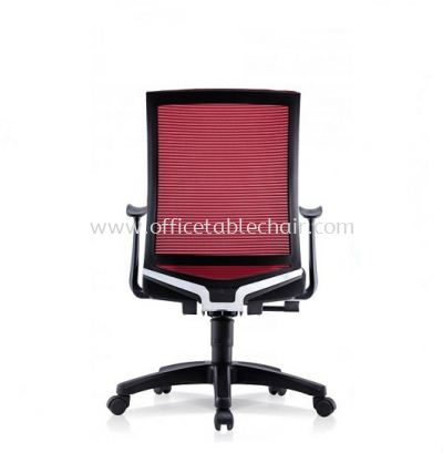 EVIN 1 MEDIUM BACK MESH CHAIR WITH FIXED ARMREST
