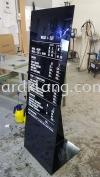 Hair Culture Priclist Acrylic Display stand at sugai wang kl Acrylic Display