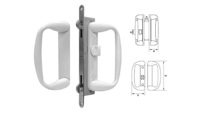 VSP-603  Sliding Door Lock