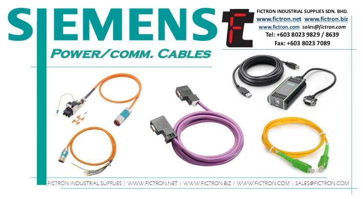 6FX5002-2DC10 6FX5002 2DC10 6FX50022DC10 SIEMENS Comm. �C Power Cables Supply by Fictron Industrial Supplies SDN BHD