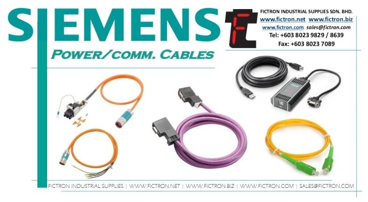 6FX8002-2EQ10-1EF0 6FX8002 2EQ10 1EF0 6FX80022EQ101EF0 SIEMENS Comm. �C Power Cables Supply by Fictron Industrial Supplies SDN BHD