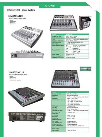 Mixer & Amplifier