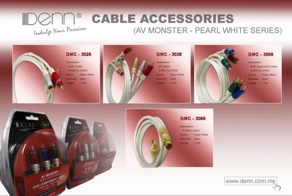 Audio & Video (AV) Cable Accessories