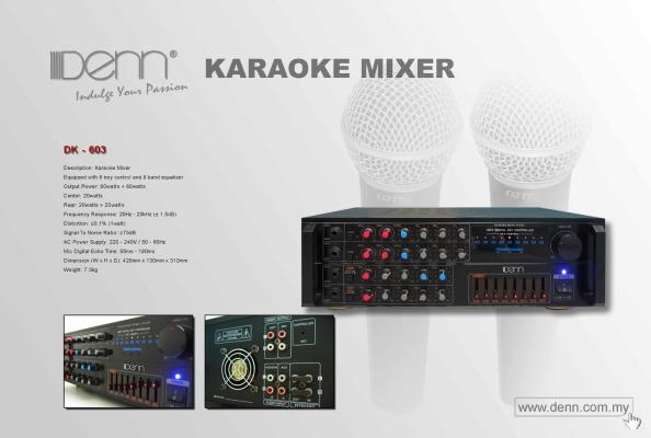 Karaoke Mixing Amplifier