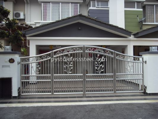 Stainless Steel Folding Gate