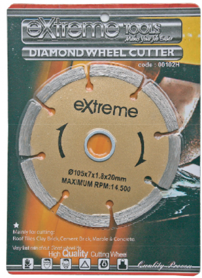 "4"" ~EXTREME~ DIAMOND WHEEL - 00102H"
